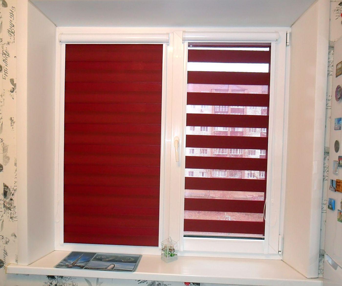 Тканевые жалюзи рулонные на окна фото цены